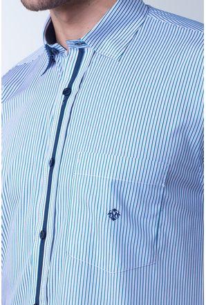 Camisa-casual-masculina-tradicional-algodao-fio-80-azul-medio-f01276a-detalhe1
