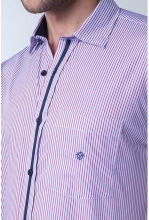 Camisa-casual-masculina-tradicional-algodao-fio-80-vermelho-f01279a-detalhe1
