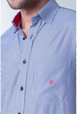 Camisa-casual-masculina-tradicional-algodao-azul-f01755a-detalhe1