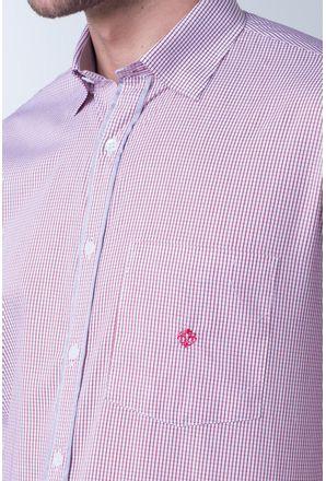 Camisa-casual-masculina-tradicional-algodao-fio-60-vermelho-f01408a-detalhe1