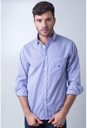 Camisa-casual-masculina-tradicional-algodao-fio-60-lilas-f01408a-frente