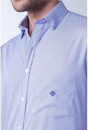 Camisa-casual-masculina-tradicional-algodao-fio-60-lilas-f01408a-detalhe1