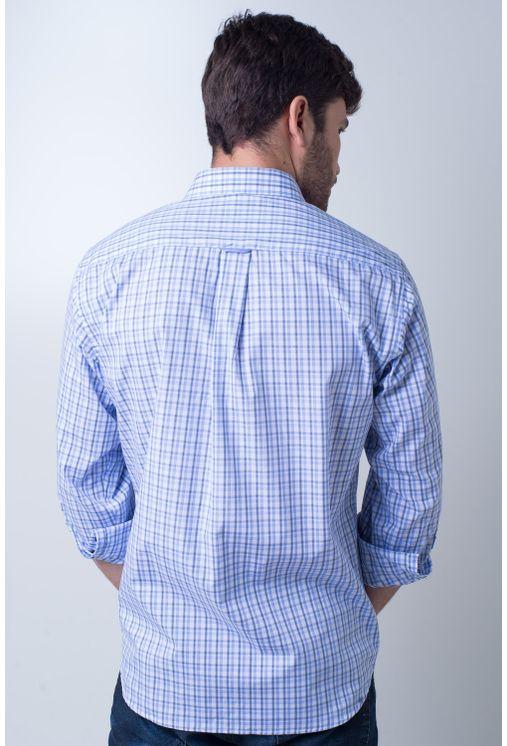 Camisa-casual-masculina-tradicional-algodao-fio-50-azul-claro-f01410a-verso