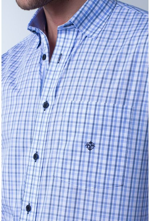 Camisa-casual-masculina-tradicional-algodao-fio-50-azul-claro-f01410a-frente