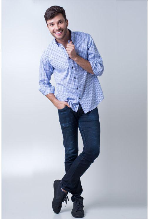 Camisa-casual-masculina-tradicional-algodao-fio-50-azul-claro-f01410a-detalhe2