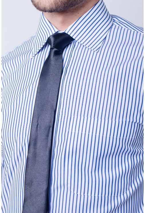 Camisa-casual-masculina-tradicional-algodao-fio-60-azul-f03823a-frente