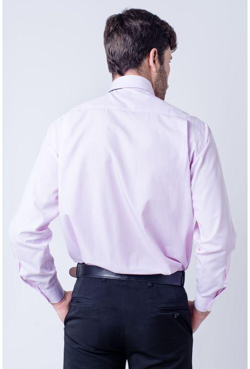 Camisa-casual-masculina-tradicional-algodao-fio-60-rosa-f03823a-verso