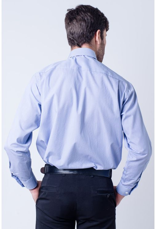 Camisa-casual-masculina-tradicional-algodao-fio-60-azul-escuro-f03823a-verso