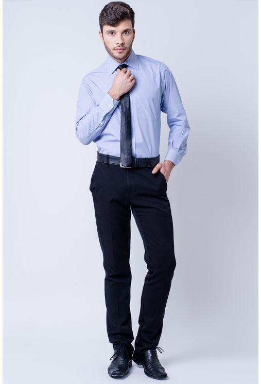 Camisa-casual-masculina-tradicional-algodao-fio-60-azul-escuro-f03823a-detalhe2