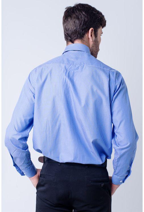 Camisa-casual-masculina-tradicional-algodao-fio-60-azul-medio-f03823a-verso
