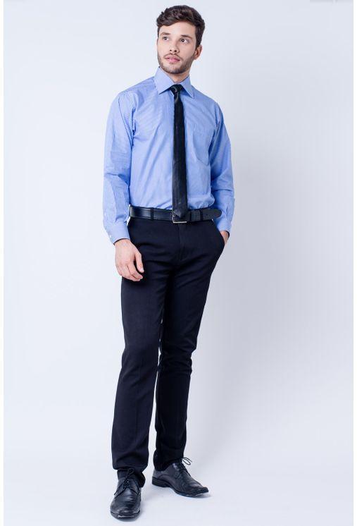 Camisa-casual-masculina-tradicional-algodao-fio-60-azul-medio-f03823a-detalhe2