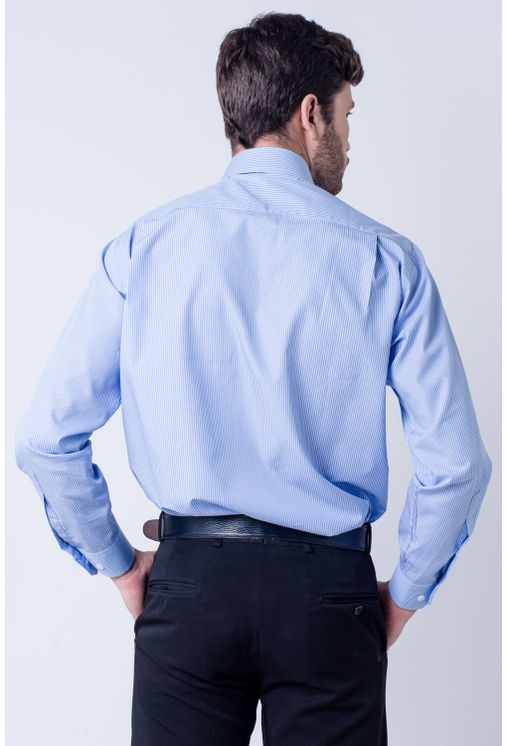 Camisa-casual-masculina-tradicional-algodao-fio-60-azul-claro-f03823a-verso