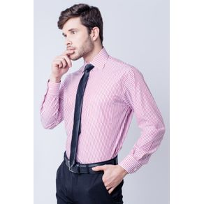 Camisa-casual-masculina-tradicional-algodao-fio-60-bordo-f03823a-frente