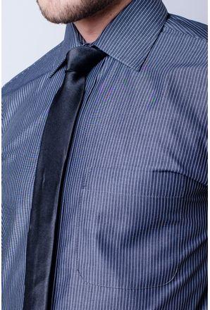 Camisa-casual-masculina-tradicional-algodao-fio-60-grafite-f03823a-detalhe1