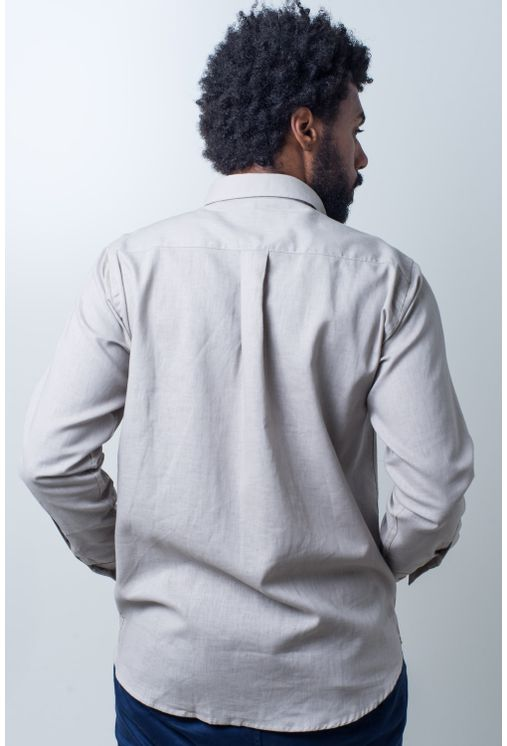 Camisa-casual-masculina-tradicional-linho-misto-bege-f01292a-verso