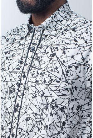 Camisa-casual-masculina-tradicional-algodao-fio-40-preto-f01605a-detalhe1
