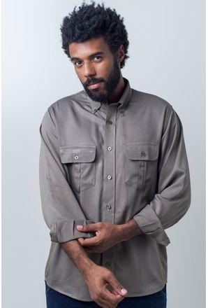 Camisa-casual-masculina-tradicional-viscose-verde-f00481a-frente