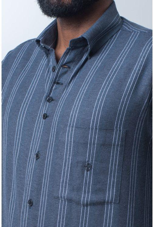 Camisa-casual-masculina-tradicional-flanela-grafite-f01100a-detalhe1