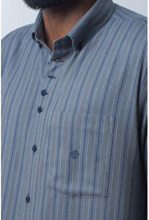 Camisa-casual-masculina-tradicional-flanela-cinza-f01100a-detalhe1