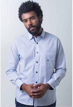 Camisa-casual-masculina-tradicional-algodao-fio-50-azul-f01384a-frente