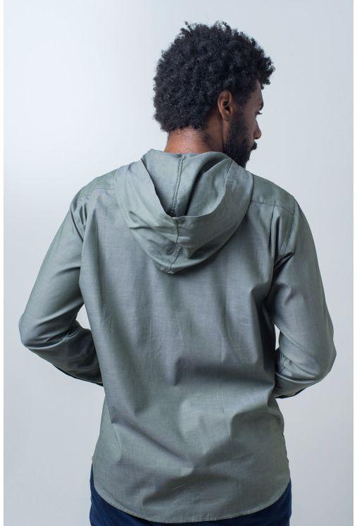 Camisa-casual-masculina-tradicional-algodao-fio-40-verde-f01444a-verso