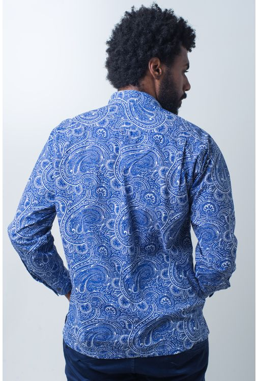 Camisa-bata-casual-masculina-tradicional-algodao-fio-50-azul-f01675a-verso