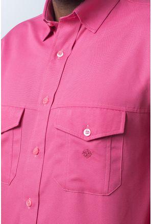 Camisa-casual-masculina-tradicional-sarjada-pink-f01695a-detalhe1