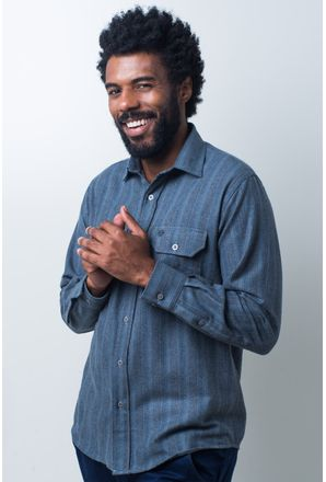 Camisa-casual-masculina-tradicional-flanela-cinza-f01735a-frente