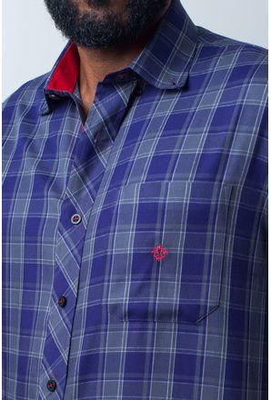 Camisa-casual-masculina-tradicional-algodao-fio-40-roxo-f01830a-detalhe1