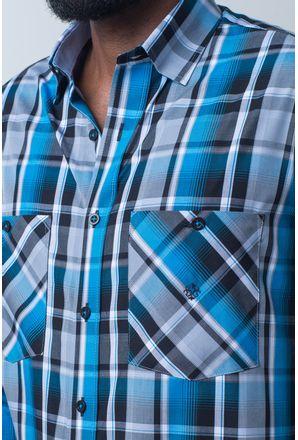 Camisa-casual-masculina-tradicional-algodao-fio-50-azul-medio-f01855a-detalhe1