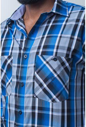 Camisa-casual-masculina-tradicional-algodao-fio-50-azul-e01855a-detalhe1