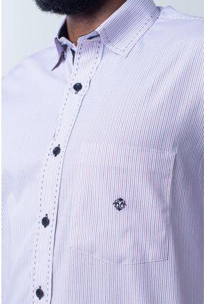 Camisa-casual-masculina-tradicional-algodao-fio-50-vermelho-f01384a-detalhe1