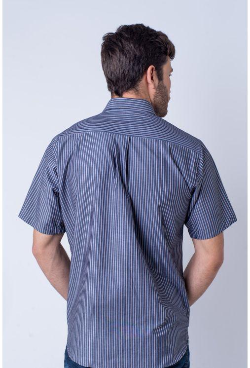 Camisa-casual-masculina-tradicional-algod-o-fio-50-vermelho-f01196a-verso