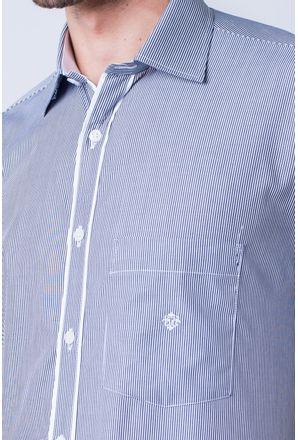 Camisa-casual-masculina-tradicional-algod-o-fio-60-preto-f01278a-detalhe1
