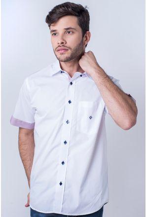 Camisa-casual-masculina-tradicional-algod-o-fio-50-branco-f01425a-frente