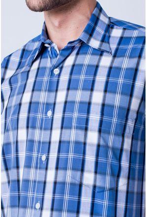 Camisa-casual-masculina-tradicional-algod-o-fio-50-xadrez-azul-m-dio-f04387a-detalhe1