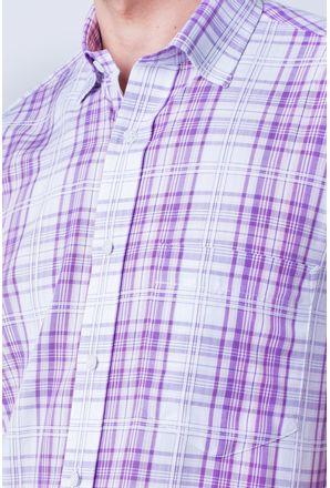Camisa-casual-masculina-tradicional-algod-o-fio-40-rosa-f05541a-detalhe1