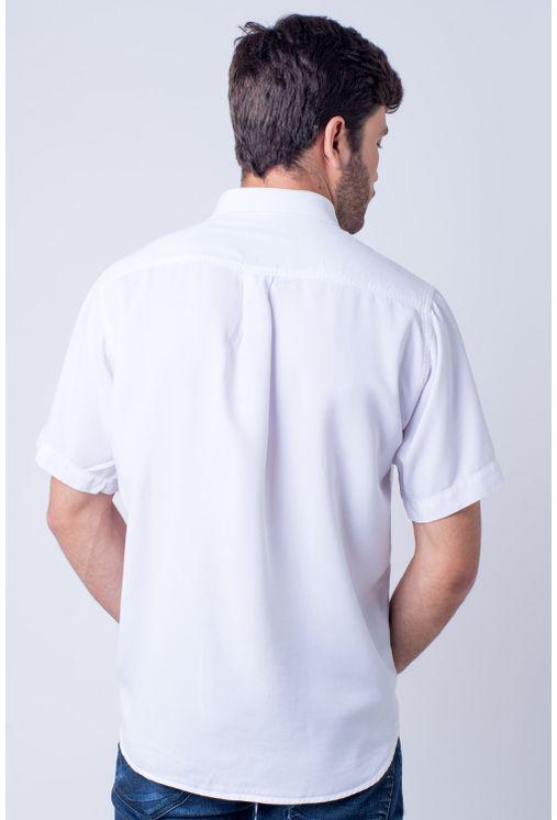 Camisa-casual-masculina-tradicional-tencel-branco-f06020a-verso