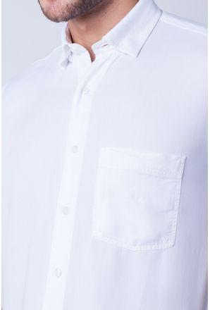 Camisa-casual-masculina-tradicional-tencel-branco-f06020a-detalhe1