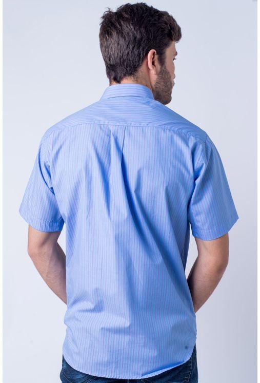 Camisa-casual-masculina-tradicional-algod-o-fio-80-azul-m-dio-f06021a-verso