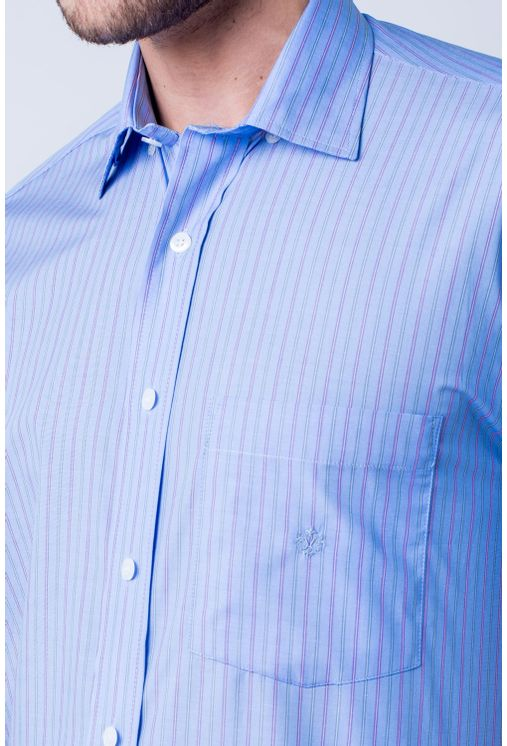 Camisa-casual-masculina-tradicional-algod-o-fio-80-azul-m-dio-f06021a-detalhe1