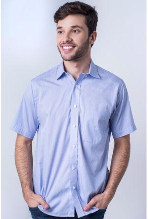 Camisa-casual-masculina-tradicional-algod-o-fio-80-azul-f06021a-frente