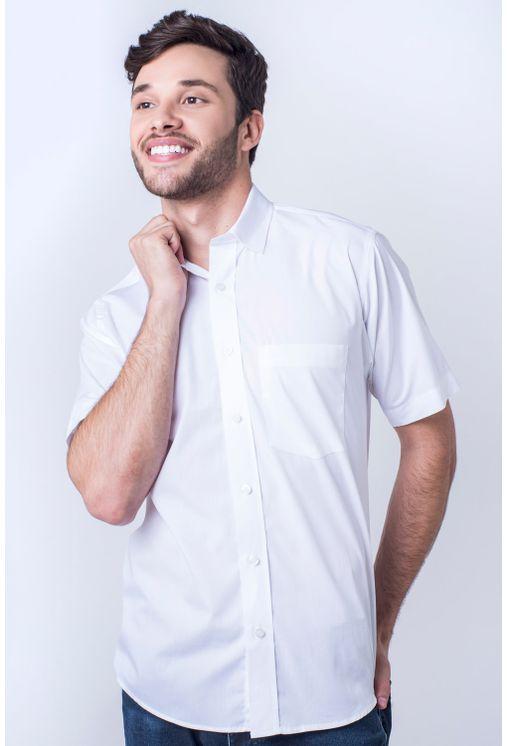 Camisa-casual-masculina-tradicional-algod-o-fio-60-branco-r03290a-frente