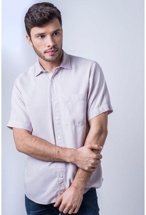 Camisa-casual-masculina-tradicional-tencel-lil-s-f06020a-frente