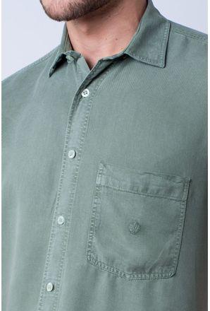 Camisa-casual-masculina-tradicional-tencel-verde-claro-f06020a-detalhe1