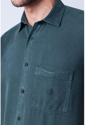 Camisa-casual-masculina-tradicional-tencel-verde-f06020a-detalhe1