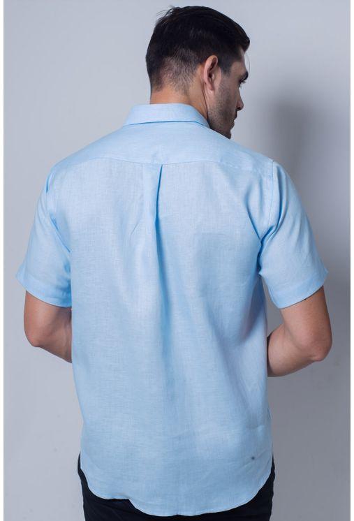Camisa-casual-masculina-tradicional-cambraia-de-linho-azul-claro-f03943a-verso