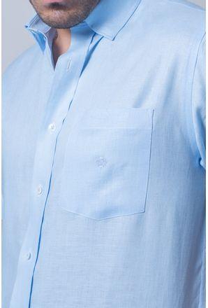 Camisa-casual-masculina-tradicional-cambraia-de-linho-azul-claro-f03943a-detalhe1