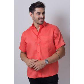 Camisa-casual-masculina-tradicional-cambraia-de-linho-salm-o-f03943a-frente