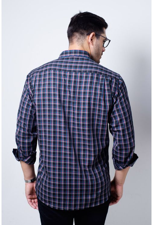 Camisa-casual-masculina-tradicional-flanela-grafite-f01836a-verso